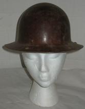 Vintage Safety Hat Hardhat Hard Hat Reddish Brown Prop Costume  - €16,64 EUR