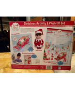 THE ELF ON THE SHELF Creativity Book Puzzle Poster & Plush Elf Set of 4 ... - $34.99