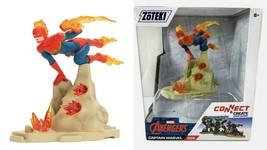 NEW SEALED 2020 Jazwares Zoteki Create Captain Marvel Diorama Action Figure - $24.74