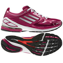 New Womens adidas F50 2.0 Running Shoes Pink/White/Black MSRP $100 G62766 - $60.00