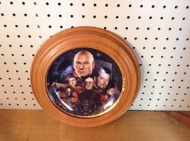 STAR TREK THE BEST OF BOTH WORLDS HAMILTON COLLECTION PLATE 4487 A      ... - $24.18