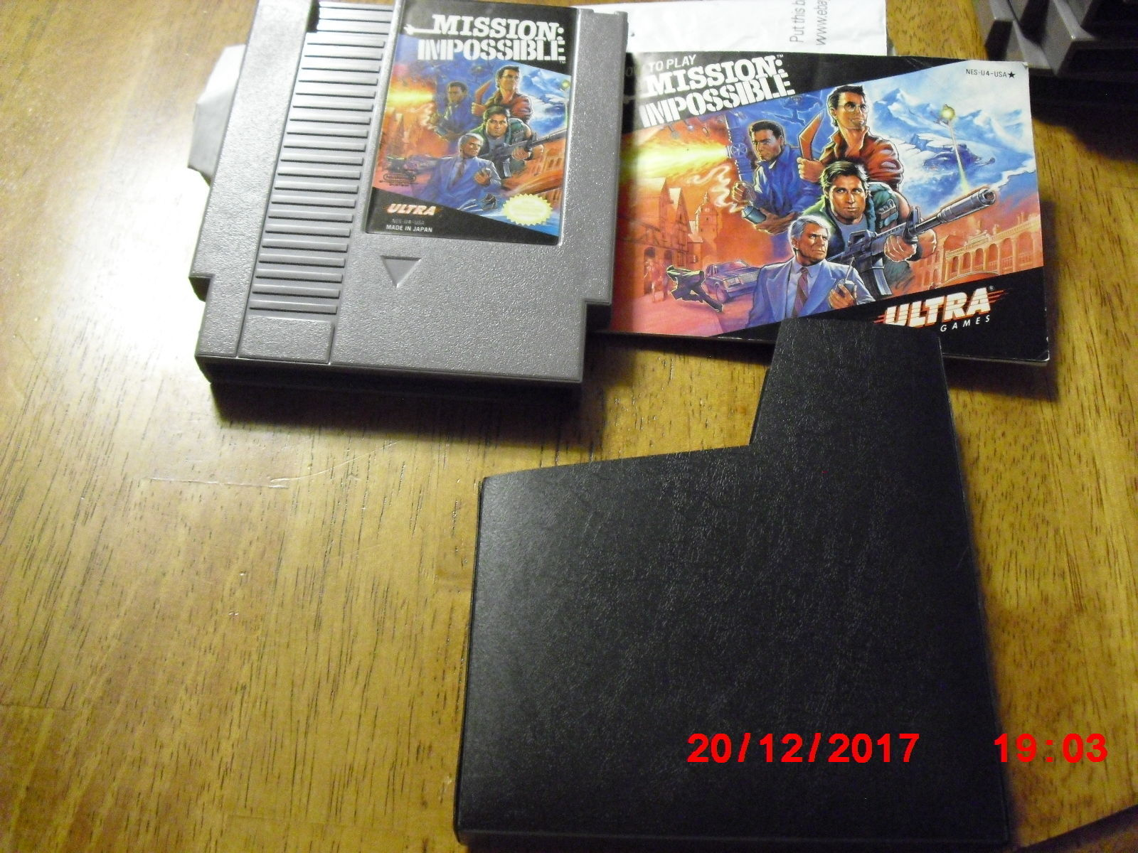 Mission: Impossible (Nintendo Entertainment System NES, 1990)