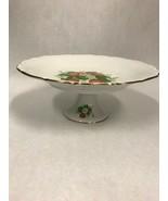 Vintage cake stand Plate pedestal Bavaria Schumann Arzberg Germany 53 St... - $59.39