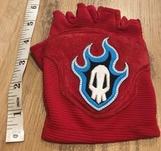 Bleach RUKIA Cosplay Official Red Skull Glove Soul Reaper Anime 04-08 Ri... - $49.99