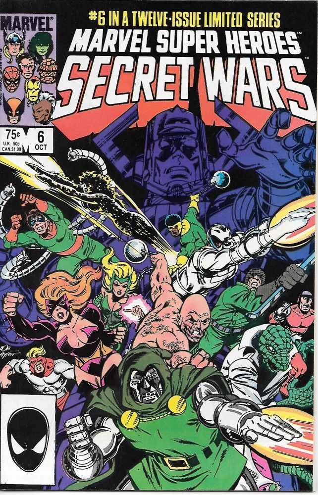 Primary image for Marvel Super-Heroes Secret Wars Comic Book #6 Marvel 1984 VERY FINE- NEW UNREAD