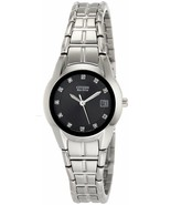NEW CITIZEN ECO-DRIVE EW1410-50E WOMENS STAINLESS STEEL WATCH Model  - $128.88