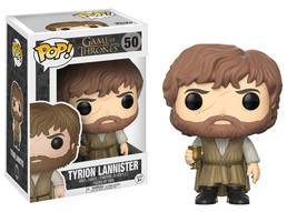 Game of Thrones Tyrion Lannister Beard Vinyl POP! Figure Toy #50 FUNKO N... - $12.55