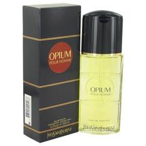 Yves Saint Laurent Opium 3.3 Oz Eau De Toilette Cologne Spray - $55.67