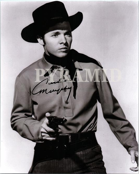 Primary image for AUDIE MURPHY Authentic Autographed Hand Signed 8X10 Photo w/COA 516