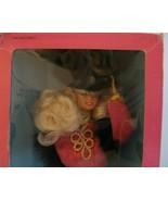 Russian Barbie Doll Dolls of the World Russia DOTW Blonde w/ Fur w/ Orig... - $19.79