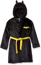 DC Comics Toddler Boy Batman Hooded Robe (Medium / 8|Big Boys|Black) - £29.07 GBP