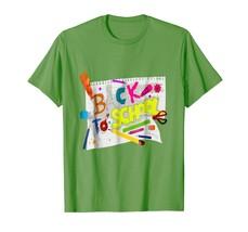 Teacher Style - Back to School T-Shirt Kindergarten Elements Hand Art Shirt Men - $19.95+