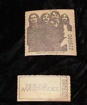The Beatles Away With Words Ticket 1970s - $19.99