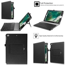 Fintie Keyboard Case For Ipad 9.7 2018 / 2017 Ipad Air 2, Ipad Air - Pu Leather  - $64.22
