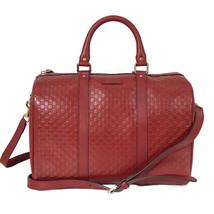 NEW GUCCI 449646 Microguccissima Leather Boston Bag - $1,150.00