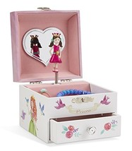 Jewelkeeper Unicorn Musical Jewelry Box, Fairy Princess Castle and Hearts - $29.03
