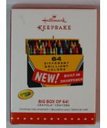 New! Hallmark Keepsake Ornament: Crayola Crayons Big Box of 64 - $19.79