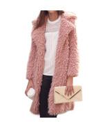 Winter long knitted sweater cardigan 2018 Autumn open stitch jackets coa... - $51.29+