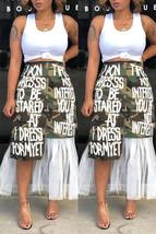 Street Patchwork Camouflage Printed Ankle Length Skirts - $29.20