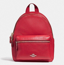 Coach MINI CHARLIE BACKPACK F11774 F11769  f 58315 Red NWT - $143.00