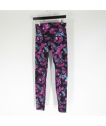 M - Lululemon Womens Watercolor Floral Wunder Under Leggings Pants 1111VB - $65.00