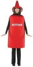 Ketchup Condiment Costume Food Halloween Party Unique Cheap GC305 - $44.99