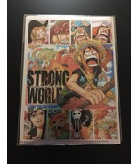 One Piece mini Golden file folder Strong World  - $8.99