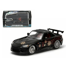 Johnnys 2000 Honda S2000 Black The Fast and The Furious Movie (2001) 1/4... - $28.71