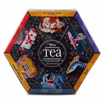 disney parks wonderland tea gift set 6 flavors 48 tea bags new sealed - $20.26