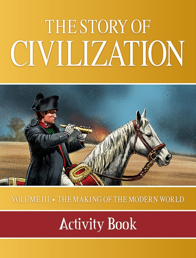 The story of civilization vol. 3   the making of the modern world  activity bookl