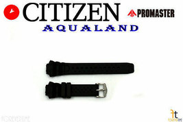 Citizen Promaster C500-Q02501 Black Rubber Watch Band C500-S016053 C500-... - $74.95