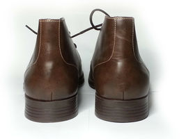 Cole Haan Men Size 10.5 Brown Leather Copley Chukka Boots Made in India New Box image 3