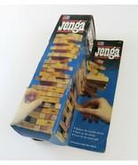 Vintage Milton Bradley Jenga Wood Block Stacking Game, 1986, Complete - £9.35 GBP