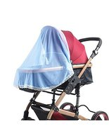 Mosquito Nets for Baby Strollers & Cribs Soft Insect Netting Cover- Blue - $12.21
