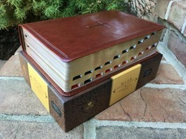 CSB HCSB Study bible ~Thumb indexed ~ Brown Imitation Leather ~ Retail $... - $49.99