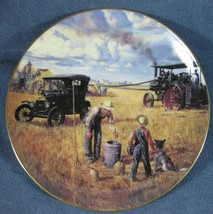 Bountiful Harvest Collector Plate Danbury Mint Farming Heartland Emmett ... - $14.97