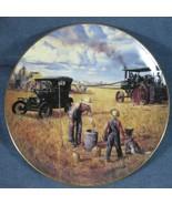 Bountiful Harvest Collector Plate Danbury Mint Farming Heartland Emmett ... - $14.97