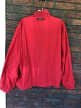 Nautica Reversible Jacket XL Red Striped Lightweight Coat Sailing Boat Vintage image 9