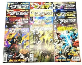 Justice League International 1 2 4 5 6 7 8 9 10 11 12 & Annual 1 New 52 ... - $24.18