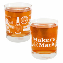 Maker's Mark Picture Wrapped Rocks Glass Clear - $18.98