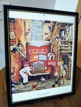 Vintage  Norman Rockwell Traffic Conditions  Post Cover July 9th 1949  Framed 11 image 2