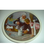 Norman Rockwell Cooking Lesson Mothers Day Plate 1982 Vintage - $12.99