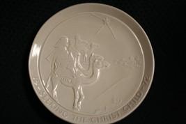 Vtg 1972 Frankoma Pottery Seeking The Christ Child Christmas Plate By Jo... - $11.97