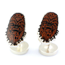 Star Wars Chewbacca Mens Cufflink Typography Lucasfilm Chewy Officially ... - $39.55