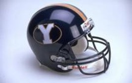 BYU Cougars Riddell Full Size Authentic Helmet**Free Shipping** - $248.00
