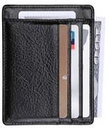 O-LET Credit Card Holder Women Men RFID Leather Wallet Minimalist Slim ... - $25.16