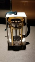 Starbucks Acrylic Rose Gold French Press 2017 Ornament - $12.95