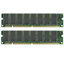 2x256 512MB Memory Dell Dimension L1000r Sdram PC133 Tested - $9.85