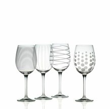 Mikasa Cheers Precision-Etched 16-oz White Wine Glasses Missing 1 Glass - $39.10