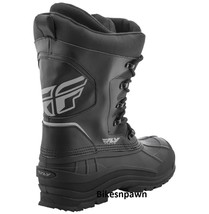 Mens Size 8 Fly Racing Aurora Snowmobile Winter Snow Boots (Womens 10) image 2